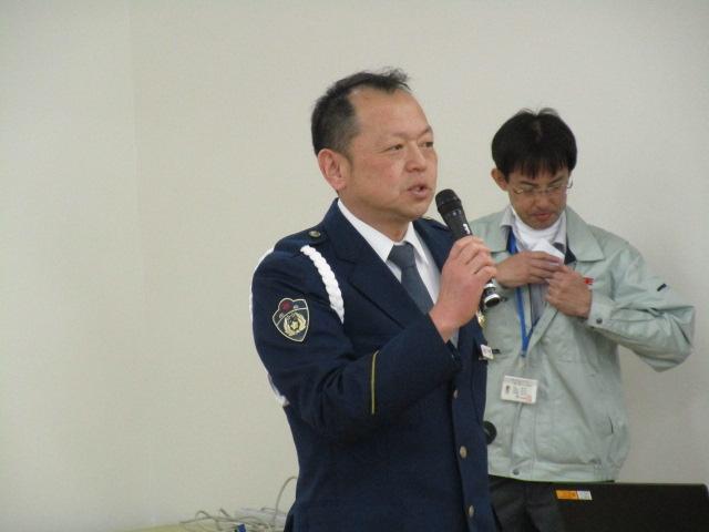 福山東警察署 交通第一課長 宇佐美方啓警部