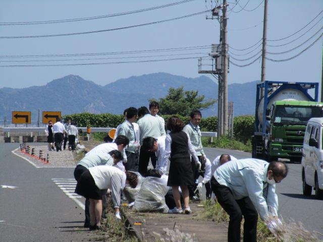 約260袋のゴミを回収
