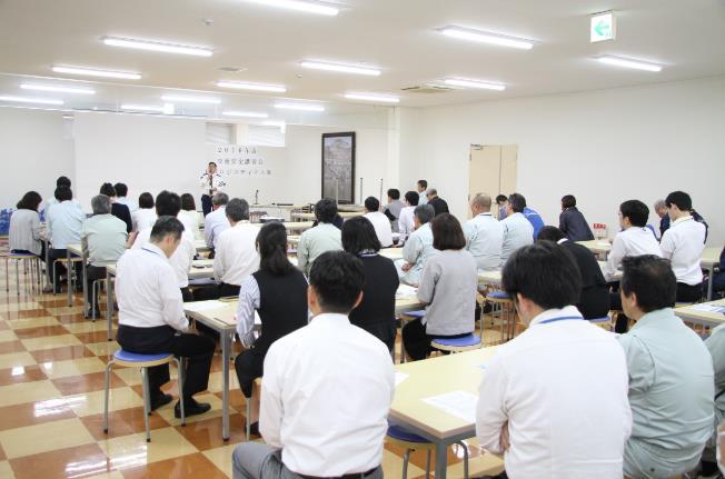 神原ロジスティクス 交通安全講習会を開催
